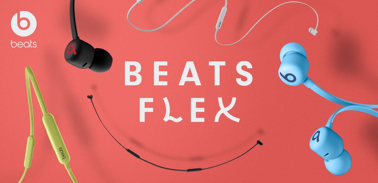 beats by dr.dre Beats Flex ワイヤレスイヤフォン