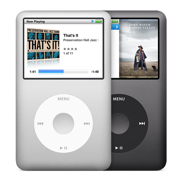 iPod classic 薄型