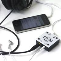 Bird Electron DJ ミキサー マイクロジャック DJ10