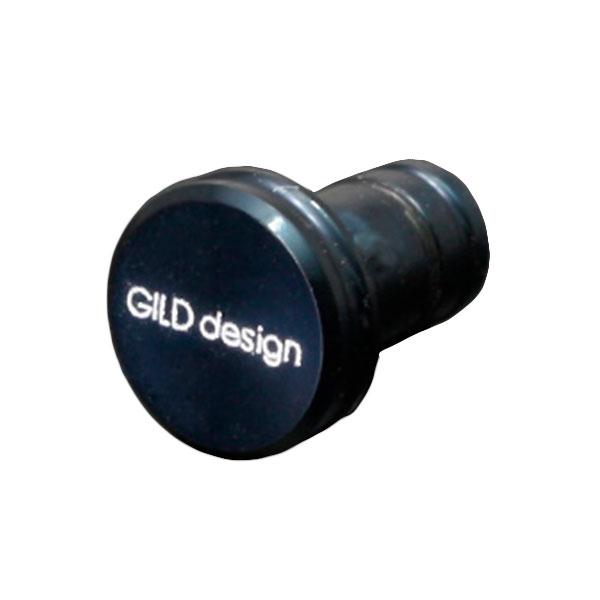 GILD design アルミ削り出しイヤホンジャックカバー ネイビー