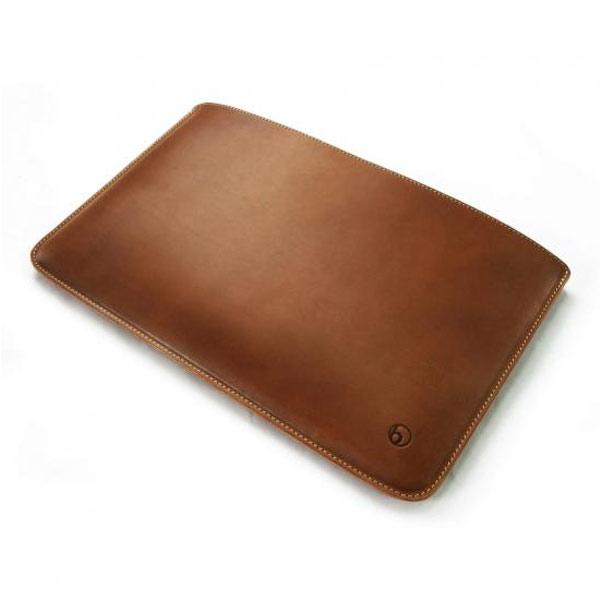 buzzhouse design MacBook Air 11 ハンドメイドレザーケース Brown