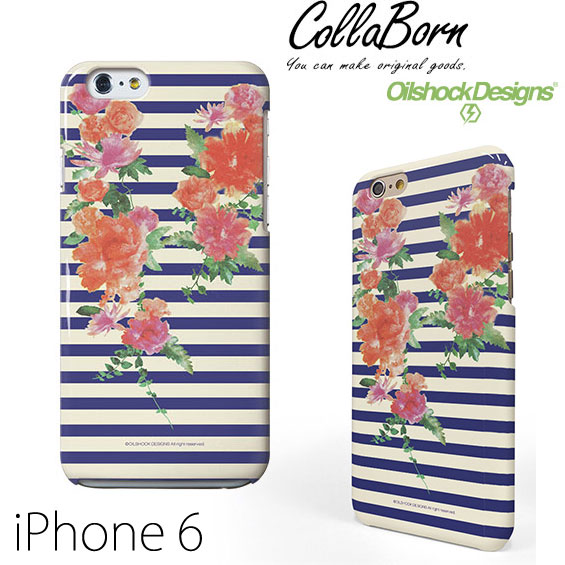 Colla Born iPhone 6 / 6s hard case Paradise for nothing designed by Oilshock Designs