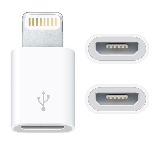 Apple Lightning - Micro USBアダプタ MD820AM/A