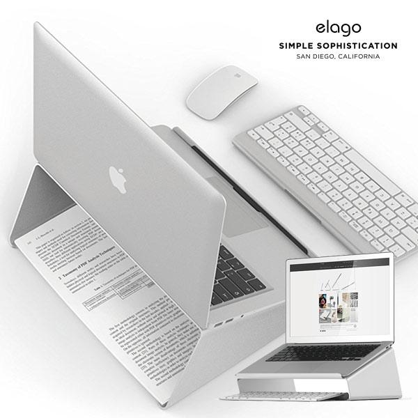 elago MacBook L4 STAND (Silver) EL_NPASTALL4_SV