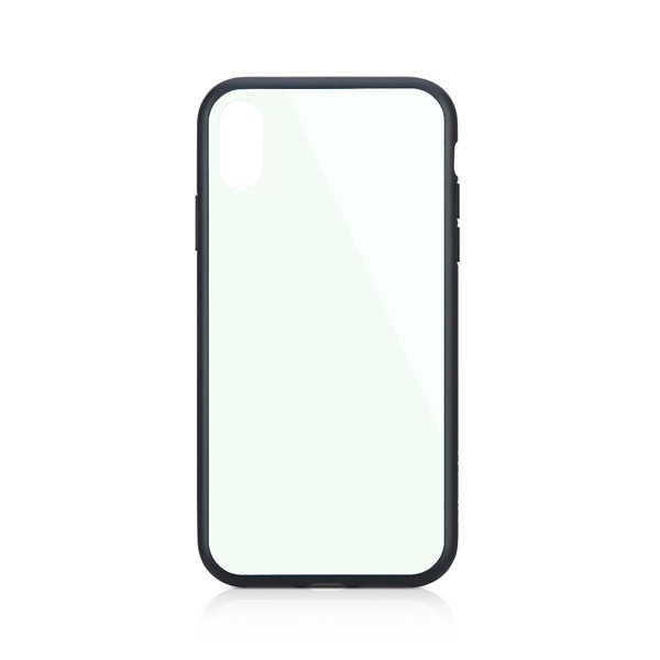 Simplism iPhone XR [GLASSICA] 背面ガラスケース(Solid color) ホワイト
