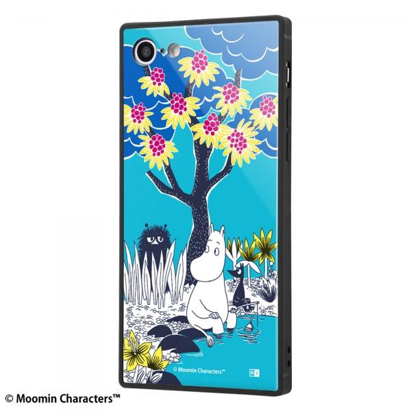 ingrem iPhone SE 第2世代 / 8 / 7 ムーミン 耐衝撃ケース KAKU トリプルハイブリッド コミック_2