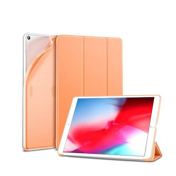 ESR iPad mini 第5世代 ウルトラスリム Smart Folio ソフトケース パパイヤ