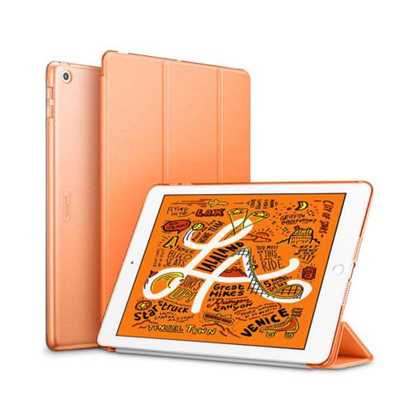 ESR iPad mini 第5世代 ウルトラスリム Smart Folio ケース パパイヤ