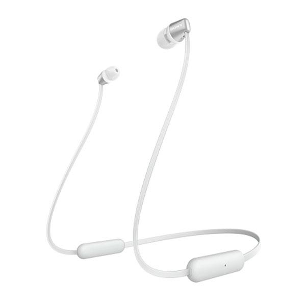 SONY WI-C310 Bluetooth 5.0 ワイヤレス ステレオヘッドセット マグネット搭載 カナル型 光沢 ホワイト