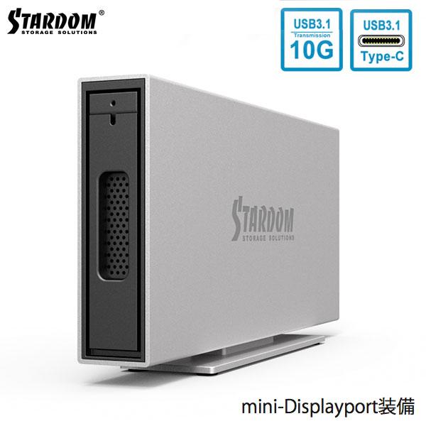 STARDOM iTANK i310 ( USB3.1 Type C / MiniDisplayPort )