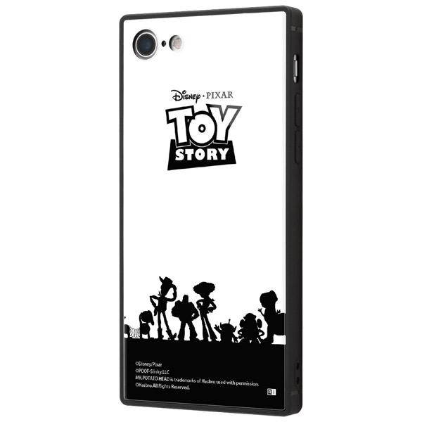 ingrem iPhone SE 第2世代 / 8 / 7 トイ・ストーリー 耐衝撃ケース KAKU トリプルハイブリッド トイ・ストーリー / シルエット