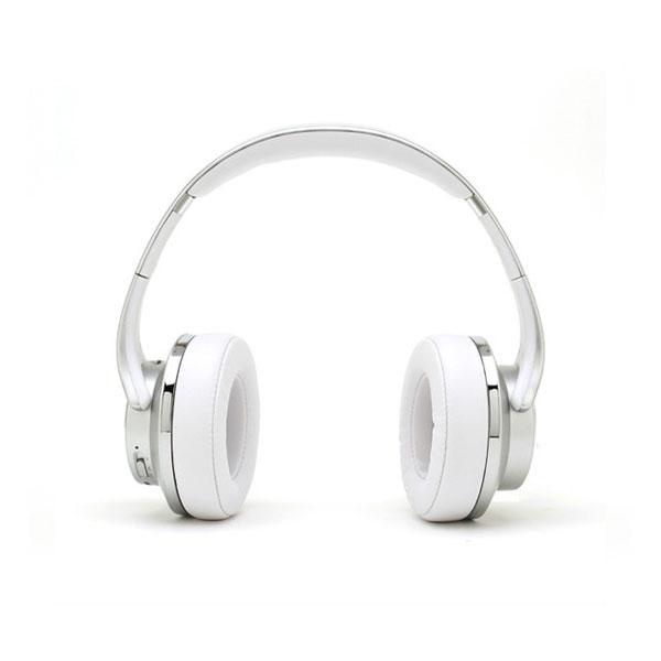 たのしいかいしゃ 『いい音』 microSDカードスロット搭載 Bluetooth ワイヤレスヘッドホン & スピーカー シルバー