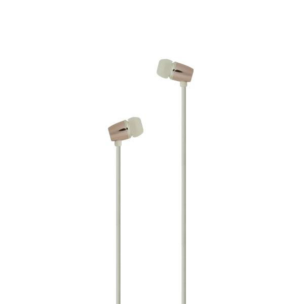 たのしいかいしゃ 『いい音』Bluetooth 5.0 ワイヤレス アルミ製カナル型イヤホン シェルピンク
