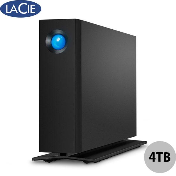 Lacie 4TB d2 Professional USB 3.1 Gen2 Type-C 対応 外付けHDD ブラック