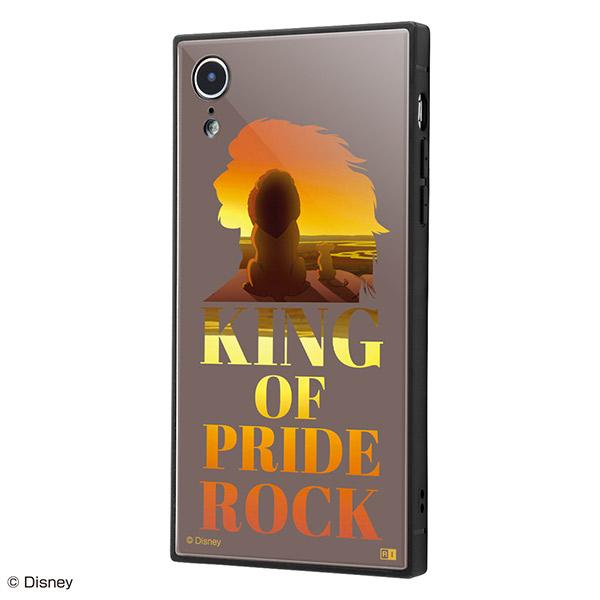 ingrem iPhone XR ディズニーキャラクター 耐衝撃ケース KAKU トリプルハイブリッド ライオン・キング Famous scene