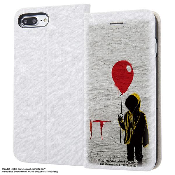 ingrem iPhone 8 Plus / 7 Plus IT 手帳型ケース マグネットタイプ wall art