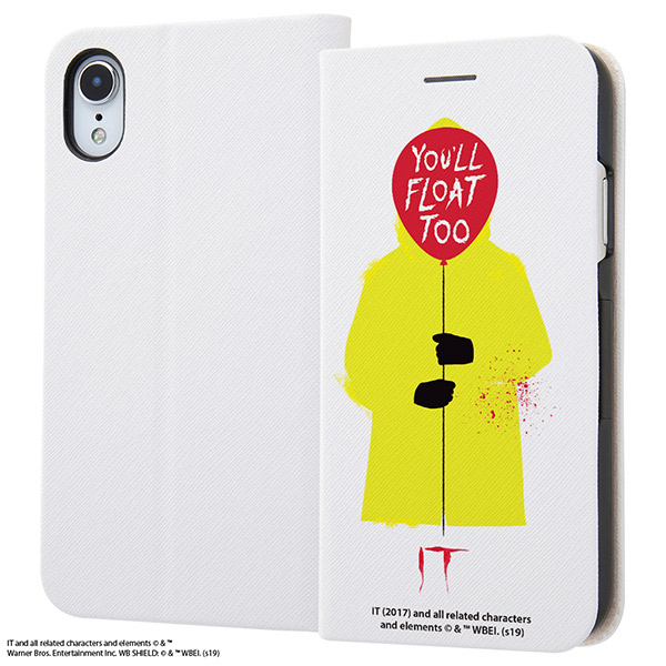 ingrem iPhone XR IT 手帳型ケース マグネットタイプ You'll float too.