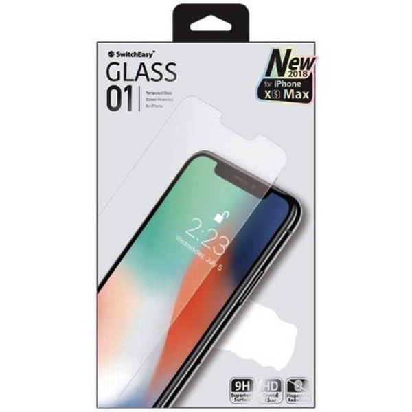SwitchEasy iPhone 11 Pro Max Glass 01 ガラスフィルム 光沢 0.03cm