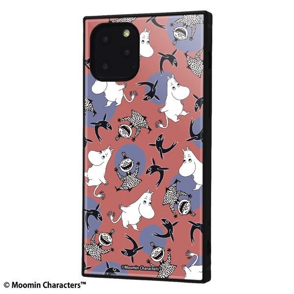 ingrem iPhone 11 Pro ムーミン 耐衝撃ハイブリッドケース KAKU パターン_1