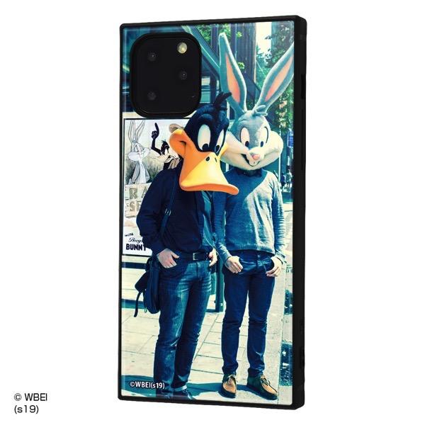 ingrem iPhone 11 Pro ルーニー・テューンズ 耐衝撃ハイブリッドケース KAKU クラシックD