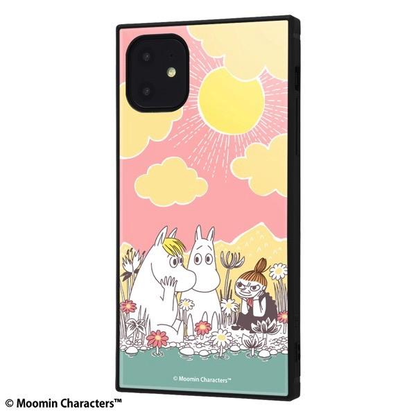 ingrem iPhone 11 ムーミン 耐衝撃ハイブリッドケース KAKU コミック_1