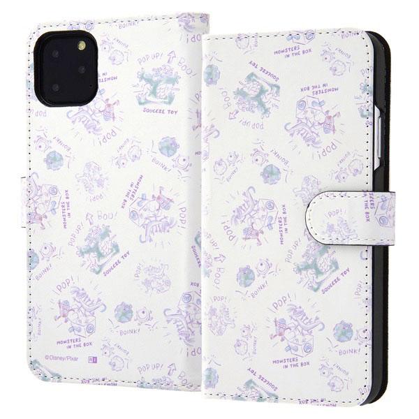 ingrem iPhone 11 Pro Max ディズニー・ピクサーキャラクター 手帳型アートケース マグネット モンスターズ・インク20