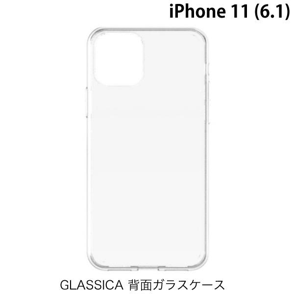Simplism iPhone 11 [GLASSICA] 背面ガラスケース クリア