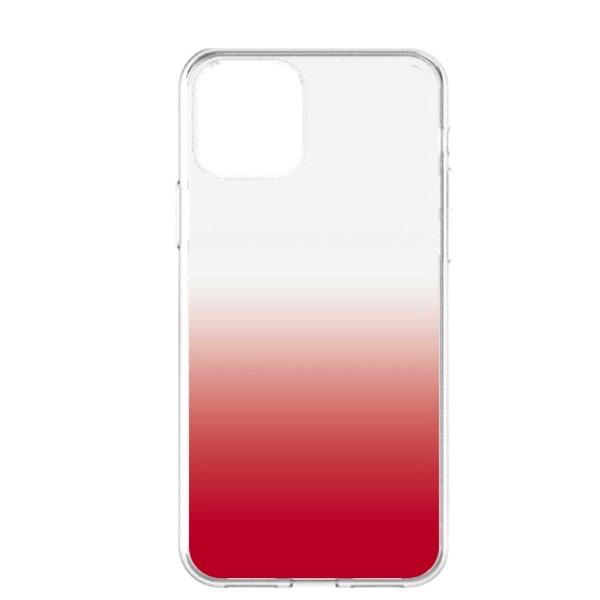 Simplism iPhone 11 [GLASSICA] 背面ガラスケース クリアレッド