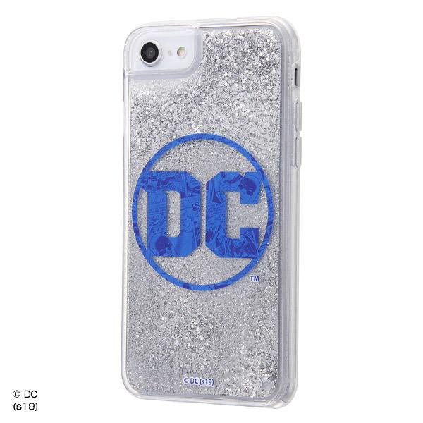 ingrem iPhone SE 第2世代 / 8 / 7 / 6s / 6 バットマン ラメグリッターケース DCロゴ×バットマン 02