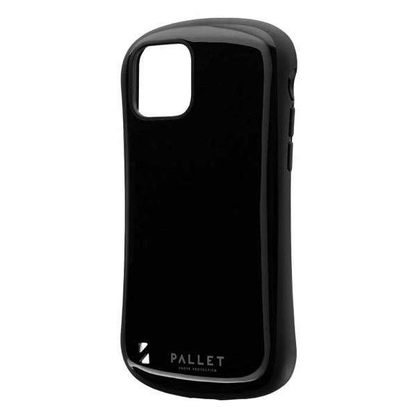LEPLUS iPhone 11 Pro 耐衝撃ハイブリッドケース PALLET ブラック
