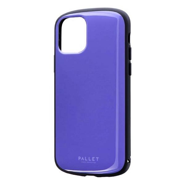 LEPLUS iPhone 11 Pro 超軽量・極薄・耐衝撃ハイブリッドケース PALLET AIR パープル