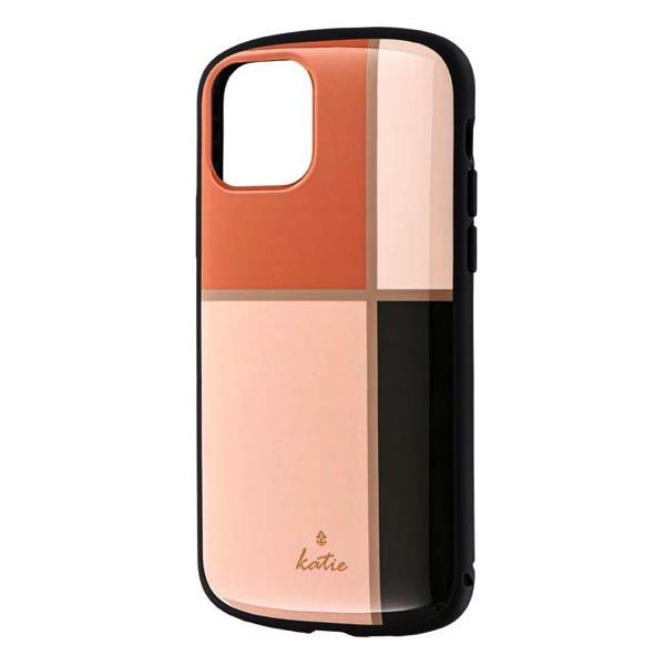 LEPLUS iPhone 11 Pro 超軽量・極薄・耐衝撃ハイブリッドケース PALLET Katie エレガントピンク