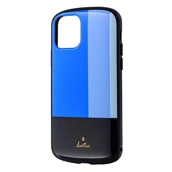 LEPLUS iPhone 11 Pro 超軽量・極薄・耐衝撃ハイブリッドケース PALLET Katie トリコロールブルー
