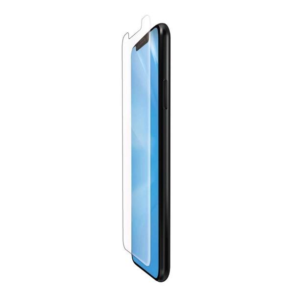 エレコム iPhone 11 Pro / XS / X フルカバーフィルム 衝撃吸収 ブルーライトカット 防指紋 高光沢 透明