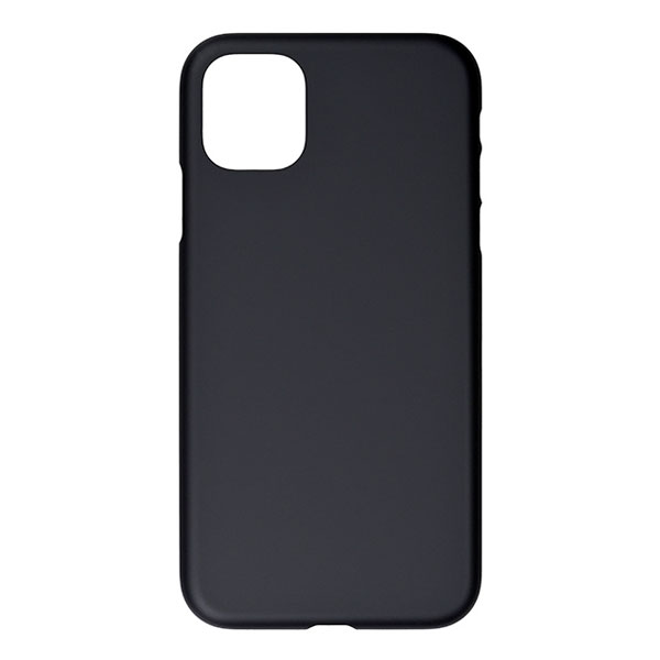PowerSupport iPhone 11 Air Jacket エアージャケット Rubber Black