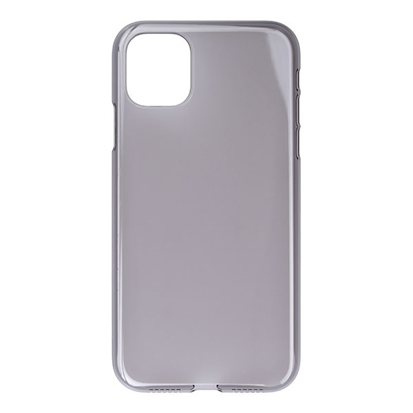 PowerSupport iPhone 11 Air Jacket エアージャケット Clear Black