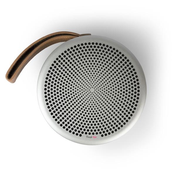 Tivoli Audio Tivoli Go Andiamo Bluetooth ワイヤレス ポータブル スピーカー Silver