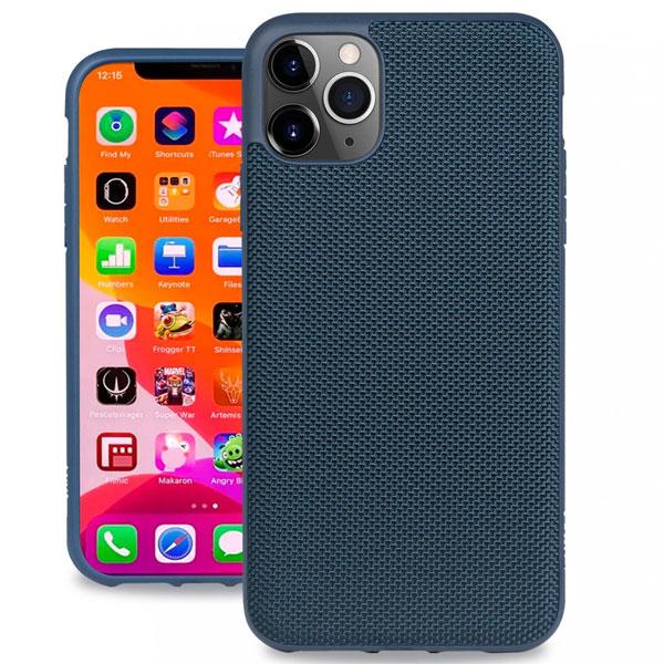 Evutec iPhone 11 Pro Ballistic Nylon Case with AFIX+ Mount Blue