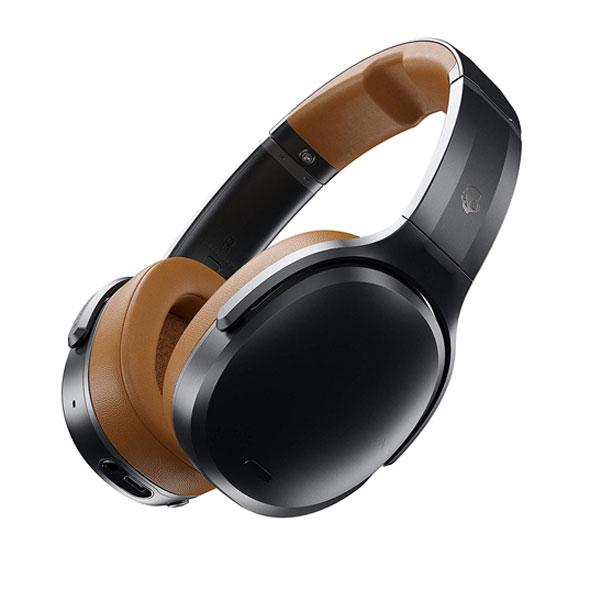 Skullcandy CRUSHER ANC Bluetooth 5.0 有線 / ワイヤレス 両対応 ノイズキャンセリング ヘッドホン BLACK / TAN