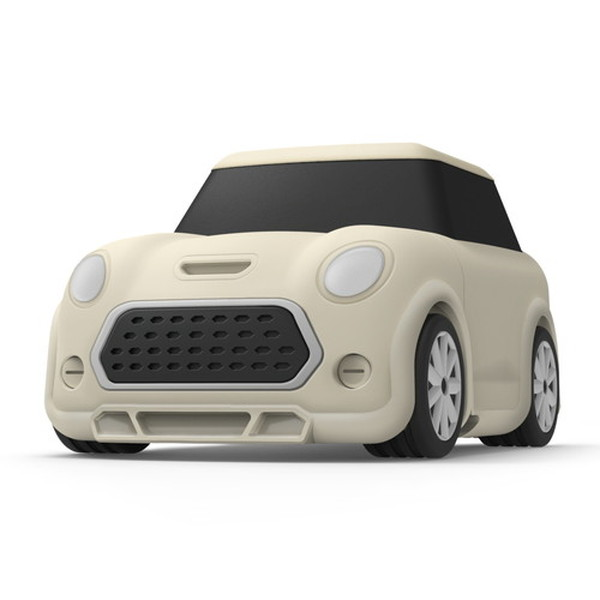 elago AirPods MINI CAR CASE シリコンケース Classic White