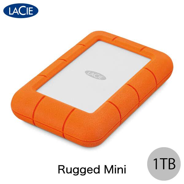 Lacie 1TB Rugged Mini USB 3.0対応 耐衝撃 外付けHDD (ポータブル)