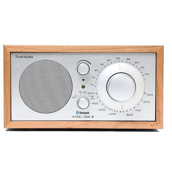 Tivoli Audio Model One BT Bluetooth 5.0 ワイヤレス AM/FM ラジオ・スピーカー Cherry / Silver