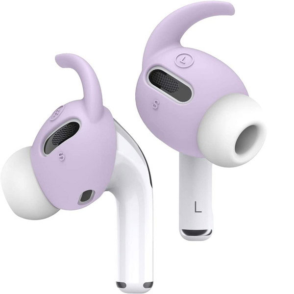 elago AirPods Pro EAR BUDS HOOK COVER Lavender