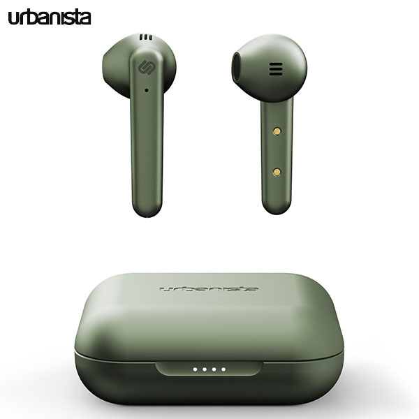 Urbanista STOCKHOLM PLUS True Wireless 完全ワイヤレス イヤホン Bluetooth 5.0 Olive Green
