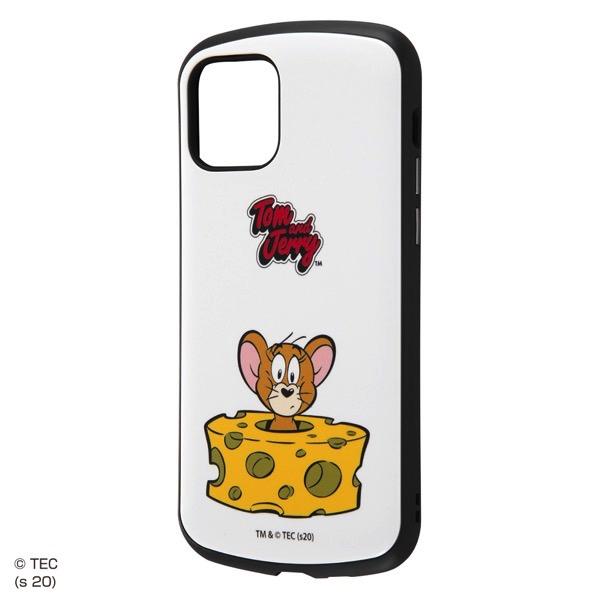 ingrem iPhone 12 / 12 Pro トムとジェリー 耐衝撃ケース MiA ジェリーとチーズ スタンダード IN-WP27AC4/JRA2