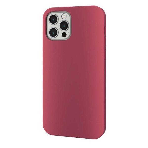 エレコム iPhone 12 / 12 Pro ハイブリッドケース 360度保護 レッド PM-A20BHV360LRD
