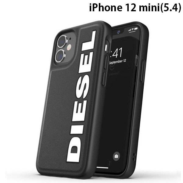 DIESEL iPhone 12 mini Moulded Case Core FW20 Black/White1