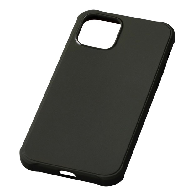 Deff iPhone 12 mini CRYTONE TESiV Clean Case 抗菌 ダークオリーブ