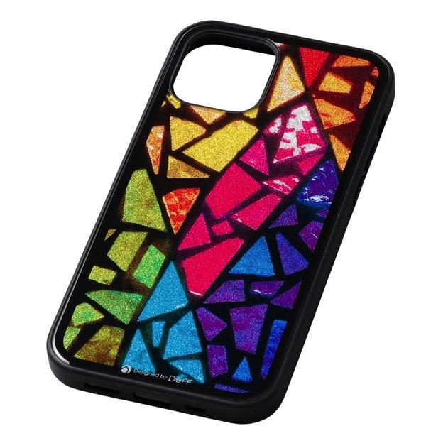 Deff iPhone 12 / 12 Pro Hybrid Case Etanze ステンドグラス DCS-IPE20MST