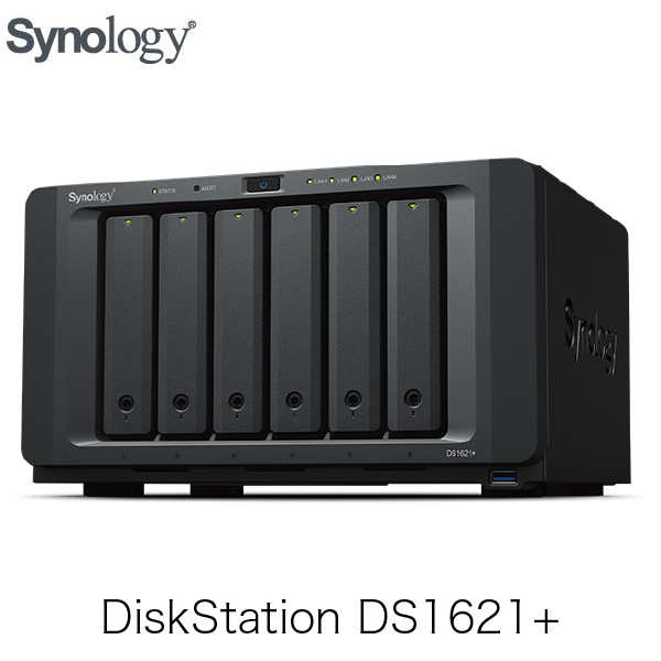 Synology DiskStation Plusシリーズ DS1621+ 6ベイ